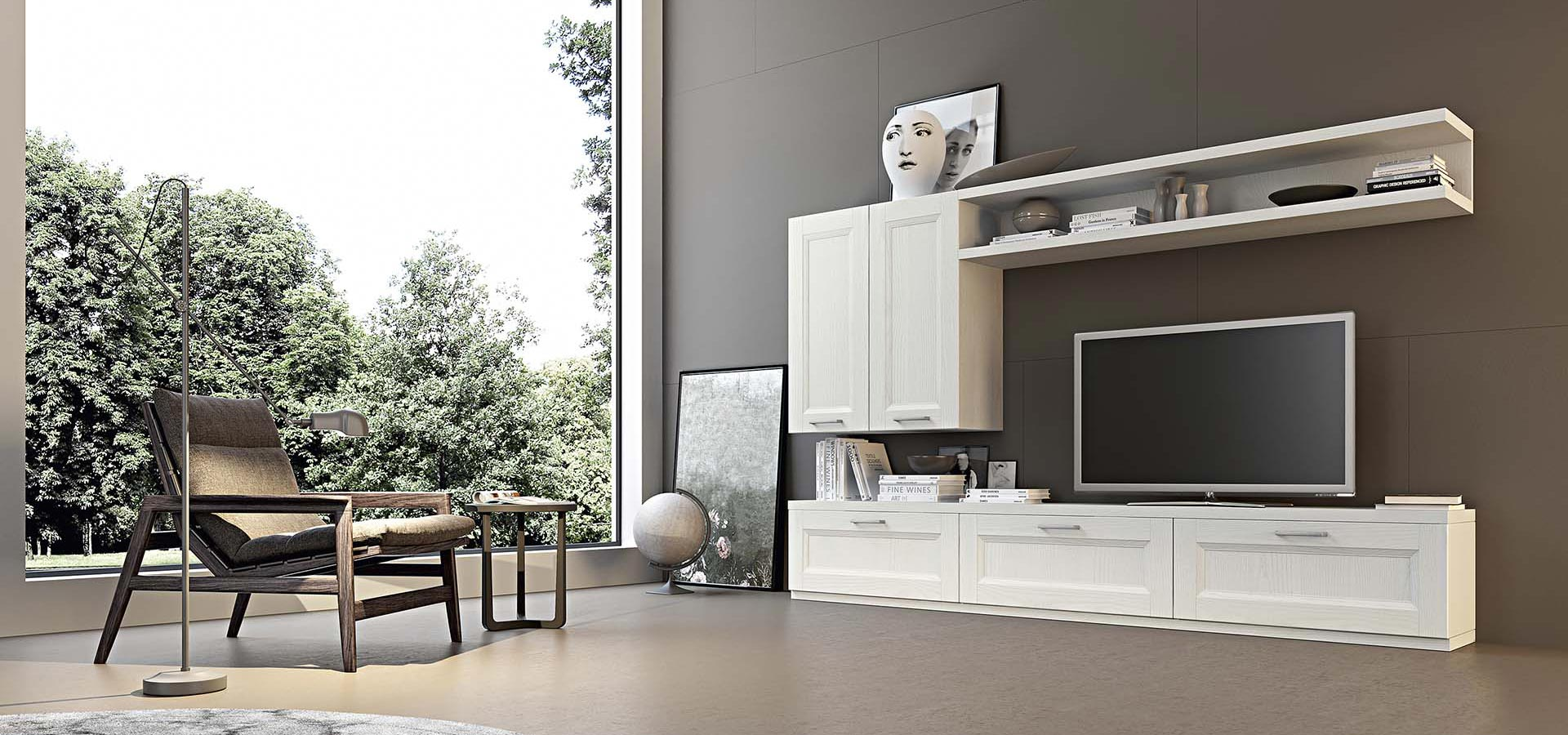 Soggiorni pirani mobili for Arredo soggiorno