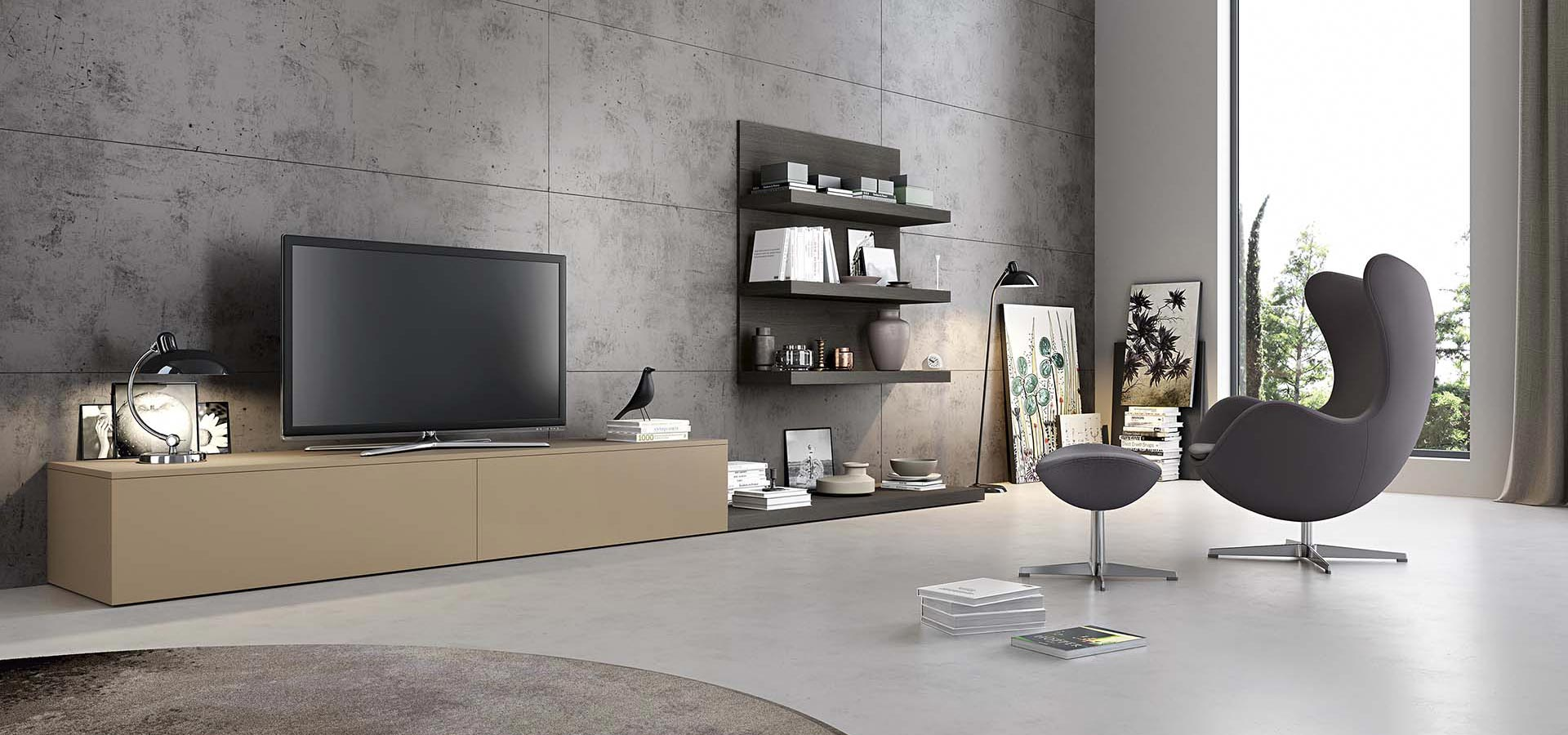Mensole soggiorno moderno mobili da soggiorno moderni for Immagini mobili soggiorno