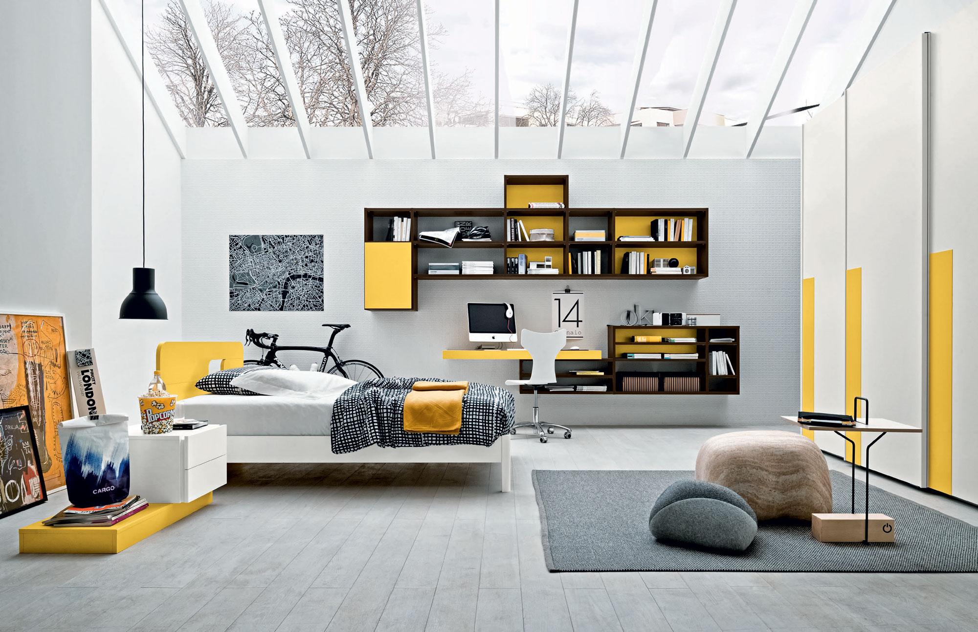 Camerette pirani mobili for Idee per arredare camera ragazzo